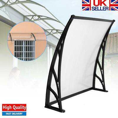 100CM Door Canopy Awning Porch Sun Front Shelter Window Outdoor Patio Rain Cover