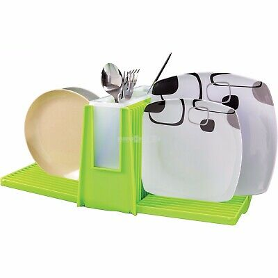 Brunner Wing Green Fold Out Dish Drainer Camping Caravan Motorhome Kitchen