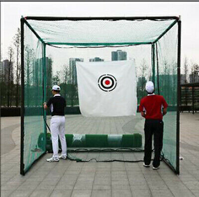 Golf Indoor Practice Net Outdoor Golf Hitting Cage Swing Practice Net