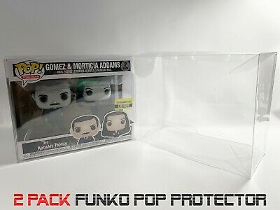 (3) X Funko Pop! 2 Pack Vinyl / Vynl Box Protector Acid Free Crystal Clear Case
