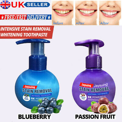 Intensive Stain Removal Whitening Toothpaste Fight Bleeding Gums Care Toothpaste