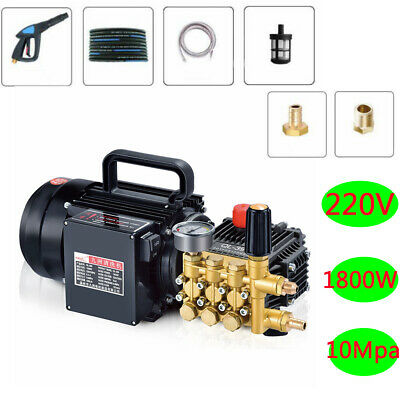 220V Household Cleaning Machine High Pressure Washer Car Floor Clean Pump 10Mpa