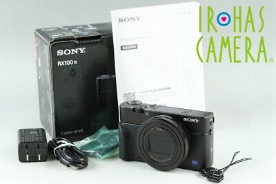 Sony Cyber-Shot DSC-RX100M6 Digital Camera With Box*Japanese Language Only#23575