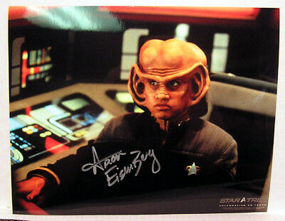Aron Eisenberg Nog STAR TREK DEEP SPACE 9 AUTOGRAPH Photo