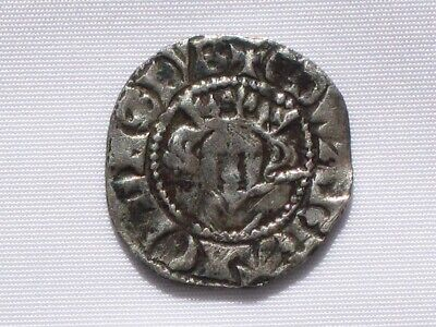 Good coin of King Edward I - Medieval Penny Minted in Canterbury 1274-1282.