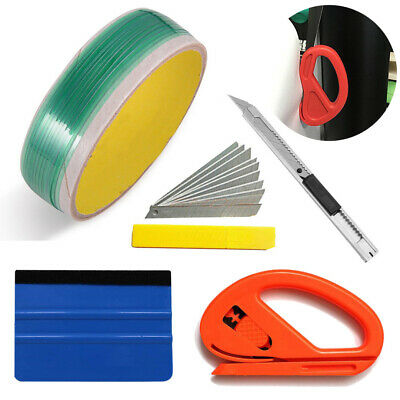 5M Finish Line Tape Squeegee 10 Blades Vinyl Car Wrapping Tools US