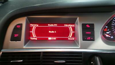 2007 Audi A6 Radio Multimedia Display Panel  4F0919603