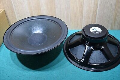 Vintage Speaker Peerless CM120W 12 inch Woofer 8 OMS 800902X NEW OLD STOCK
