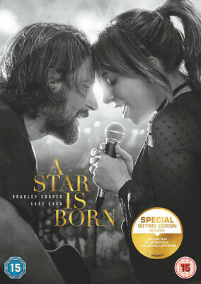 A Star is Born (2018) (DVD + CD) Bradley Cooper, Lady Gaga, Andrew Dice Clay