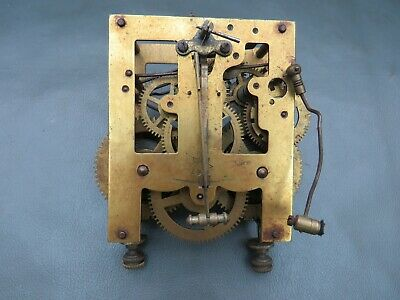 Vintage Junghans wall clock movement for spares or repair