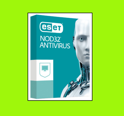 ESET NOD32 Antivirus 2019 | 1 Device PC | 1 Year Jahre Download ESD