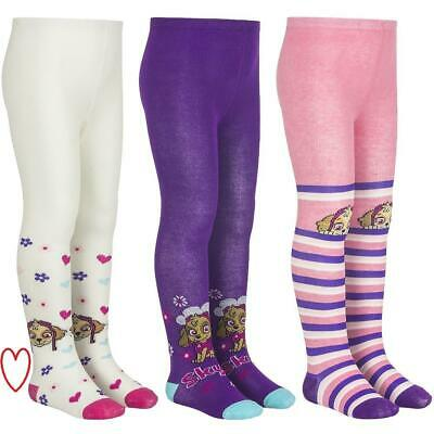 Girls Kids Paw Patrol Winter Tights