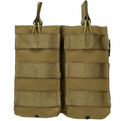 Highlander Molle Doble bolsa de liberación rápida Paintball Military COYOTE