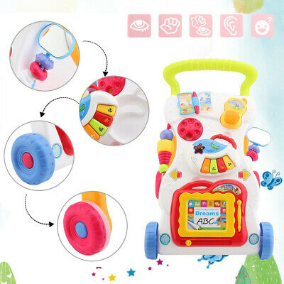 Baby Walker Push Bouncer Top Quality Activity Musical Melody Toy Along mi