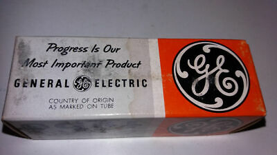 Nos General Electric Vintage Electronic Vacuum Tube New 6GC5