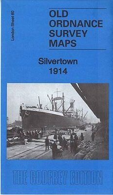 Old Ordnance Survey Map Silvertown 1914