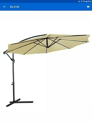 CANOPY ONLY FOR 3 3m x 2 4m Rectangular Cantilever Parasol 8