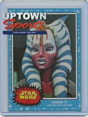 Topps SW Living Set Card #27 - Shaak Ti  -  GREAT COLLECTION