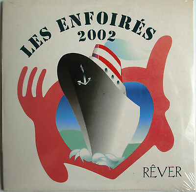 "Pascal Obispo - Francis Cabrel - Jean-Louis Aubert - Cd Single Promo ""Rêver"""