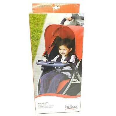Britax Child Tray Accessory for Single B-Lively Strollers Black Cup Holder