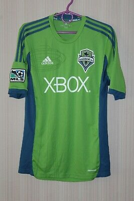 size 40 fe8f5 15347 ADIDAS AUTHENTIC MLS Jersey Seattle Sounders Team Green 2018 ...