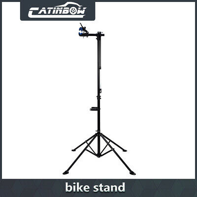 """Pro Bike Adjustable 42"""" To 74'' Cycle Bicycle Rack Repair Stand w/ Tool Tray"""