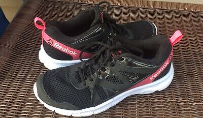 Details about Womens Sz 10 Reebok Crossfit Shoes Training Black Pink Lace Running Memory Tech