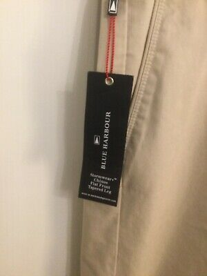 BNWT Men's Marks and Spencer chino trousers pants W32x29L stormwear+ rrp £38