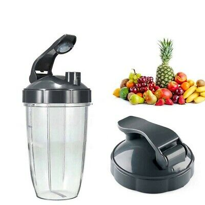Extractor Blade+ 32OZ Mixing Tall Cup+ Flip Lid For Nutri Bullet 600W 900W Z8T4W