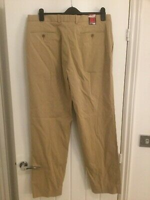 BNWT Men's Marks and Spencer chino pants trousers  W36x33L Italian  rrp £39.50