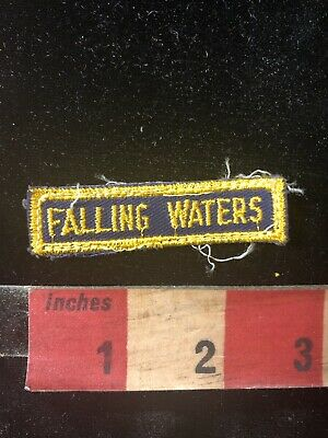 Vintage Florida FALLING WATERS STATE PARK Tab Patch 98NM