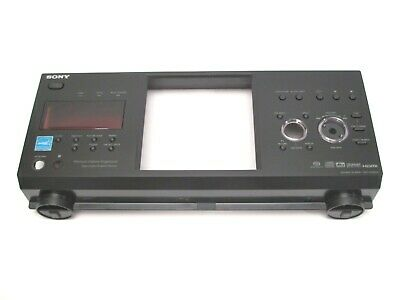 SONY DVP-CX995V DVD PLAYER PARTS - front faceplate assembly