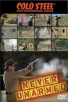 Cold Steel Never Unarmed DVD Set. Features Lynn Thompson's discussion on the fol