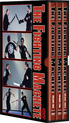 Cold Steel The Fighting Machete DVD Set Features Lynn Thompson's (president and