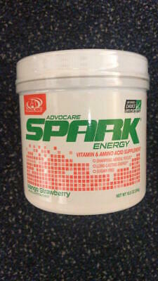 ADVOCARE SPARK CANISTER Energy MIX-42serving-MANG-STRAWBER-FREE SHIP-LowestPrice