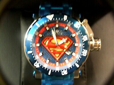 Invicta Dc Comics Men 52Mm Coalition Forces Superman Limited Edition Automatic B