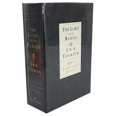 The Lord of the Rings J R R Tolkien 50th Anniversary Edition Book Slipcase