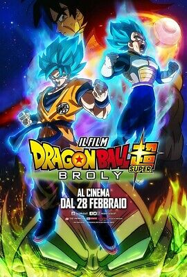 1629215 Movie - Dragon Ball Super - Broly (DVD) Neuf