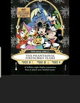 Mickey's Not So Scary Halloween Party 2019 Sorcerers Of The Magic Kingdom Card