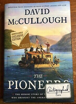 The Pioneers by David McCullough-SIGNED!