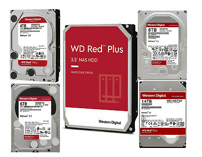 Western Digital 1TB 2TB 3TB 4TB 6TB 8TB 10TB 12T  Internal RED NAS Hard Drive WD