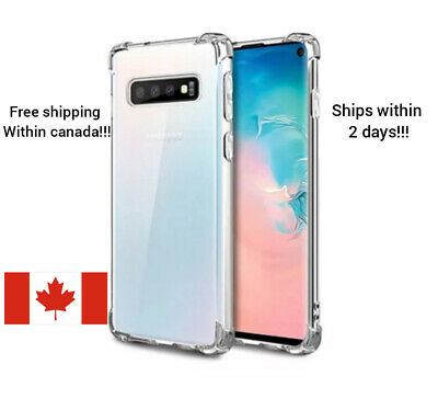 For Samsung Galaxy S10e / S10 / S10 Plus Shockproof Clear TPU Protective Case