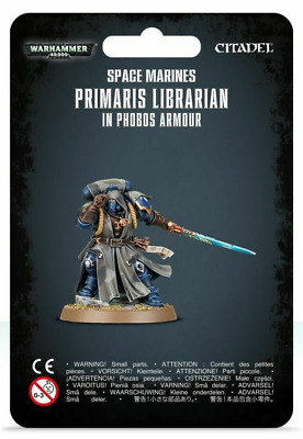 Warhammer 40K Space Marines Librarian in Phobos Armor Primaris Vanguard Marine