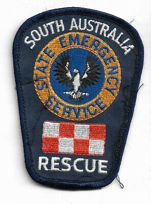 Obsolete South Australia State Emergency Services Rescue Patch