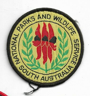 Obsolete South Australia National Parks & Wildlife Service Patch