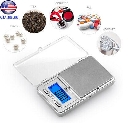 Pocket Digital Gram Scale Jewelry Weight Electronic Balance Scale 0.01g/200g