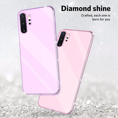 Luxury Bling Diamond Soft Silicone Case Skin For Samsung Galaxy Note 10 Plus S10