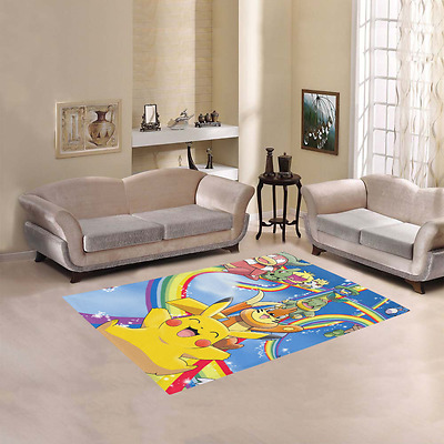 Fashion Cool Cat Home Area Rug Kid Play