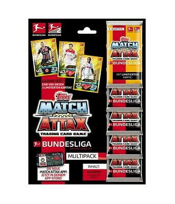 Topps Match Attax 2019/2020 - Multipack inkl Limited Edition - Saison 19/20