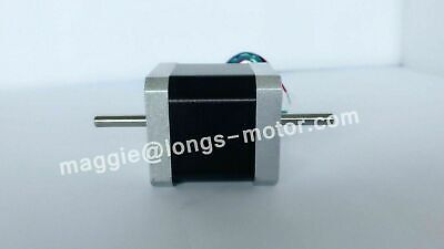 【EU Free Ship】Nema17 Stepper Motor 17HS8403NB Dual Shaft 4-Lead 2.5A 70oz-in